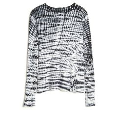Proenza Schouler Tie Dye Long Sleeve Tee (2 275 SEK) ❤ liked on Polyvore featuring tops, t-shirts, proenza schouler, tees, proenza schouler top, longsleeve t shirts, tie dye tops, long sleeve t shirt and tie dye tee