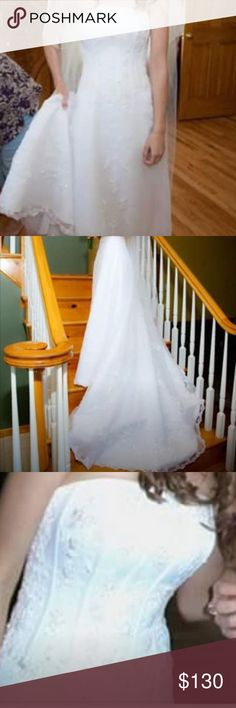 Organza wedding dress Organza wedding dress David's Bridal Other