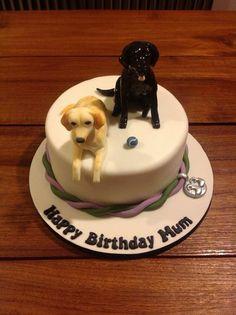 Labrador dog cake - by Cakes Honor Plate @ CakesDecor.com - cake ...