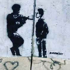 #occupation #soldier #idf #freedom #nofear #palestine #original #banksy #streetart #art #bethlehem #jerusalem #syria #gun #tbt #photooftheday #iphoneonly #beautiful # by ammar_aldeek