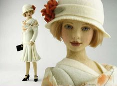 Evelyn by Maggie Iacono, I think her felt dolls are sewn but they sure are inspiration for needle felting