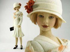 maggie iacono felt dolls - Evelyn