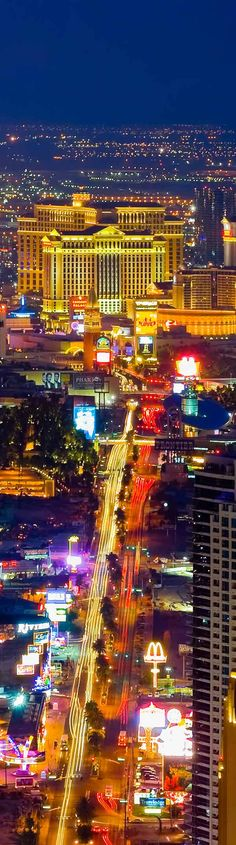 Las Vegas Strip is a great weekend get away. I've been there many times and have always found something of interest to do without making gambling the #1 reason for going.