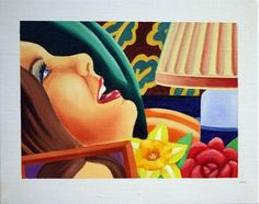 """Tom  Wesselmann's """"Study for Bedroom Painting"""""""