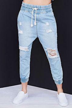 16 Ideas De Jeans Jogger Ropa Moda Para Mujer Jogger Mujer