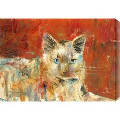 Gallery Direct 'Mouser' by St. John Painting Print on Wrapped Canvas Size:
