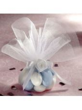 White Tulle Circles 50ct - Wedding Favor Boxes - Weddings - Categories - Party City