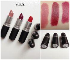 Guia dos Batons da MAC | New in Makeup