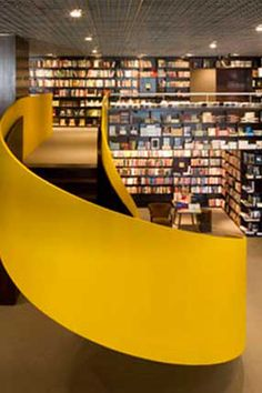 Curl up with a classic or simply browse at these jaw-dropping bookstores around the world.