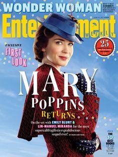 Mary Poppins Return su Entertainment nuove immagini dal film copertina