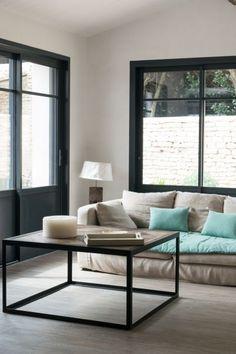 Chambre moderne bleu chambre coucher design chambre for Meuble beaubien
