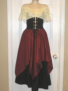 Homemade Medieval Costumes For Women Pirate Dress Diy Medieval Dress Tutorial Fabric Wholesale Direct Simple Medieval Peasant Costume Diy Medieval Costume Diy Medieval Costumes Diy Medieval Costume Diy Renaissance Costume Easy Peasy Men S Medieval… Meme Costume, Cosplay Costumes, Wench Costume, Costume Ideas, Toga Costume, Homemade Pirate Costumes, Pirate Halloween Costumes, Pirate Dress, Pirate Wench