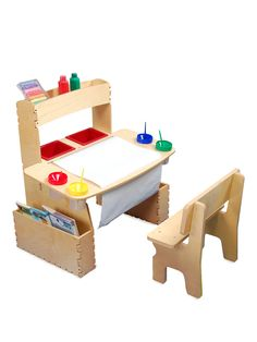All in One Art Table from Developmental Toys Feat. Tolo on Gilt