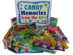 Gift Idea: Nostalgic 80s Candy Box from Woodstock Candy Review