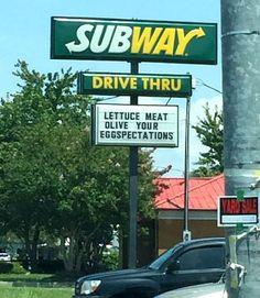 Punny Subway