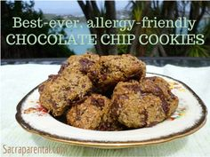 Best-ever Allergy-friendly Chocolate Chip Cookies