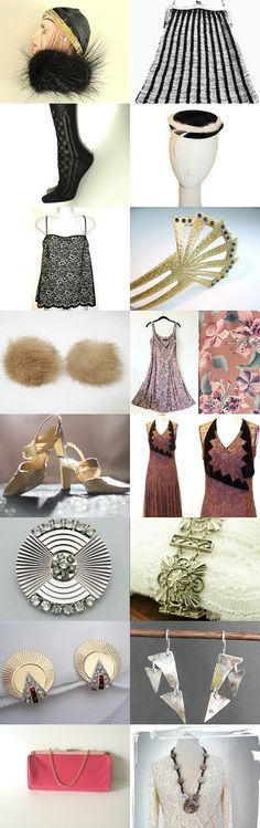 Flapper Fluff by Nikki Thorpe on Etsy--Pinned with TreasuryPin.com