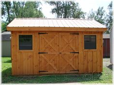 board and batten shed