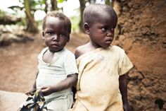 sudanese orphans....i want to bring both of them home right now this breaks my heart