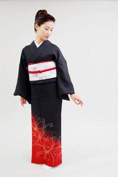 Modern Huomongi Style Kimono