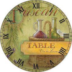 MI BAUL DEL DECOUPAGE Tuscan  w/wine