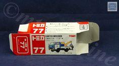 TOMICA 077E MITSUBISHI TOWING TRUCK | 1/72 | ORIGINAL BOX ONLY | ST9 1999 CHINA