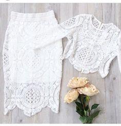 Fashion Frenzzie - Geometric Lace Dress Co-Ord Set, $59,83 (http://www.fashionfrenzzie.com/geometric-lace-dress-co-ord-set/)