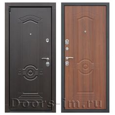 Входная металлическая дверь АСД ГЕРМЕС орех бренди (описание и характеристики):   Коробка двери цельнокатанная, с широким наличником (80 мм). Изготовлена из усиленной стали толщиной 2 мм,  утеплена