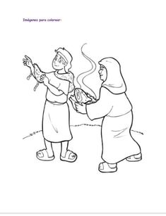 Jacob and Esau Coloring Pages | Sunday School Kick Off ...