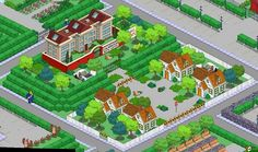 What did you do with Calmwood Mental Hospital? Simpsons Springfield, Springfield Tapped Out, Springfield Heights, The Simpsons Game, Clash Of Clans, City Photo, The Neighbourhood, Games, Om