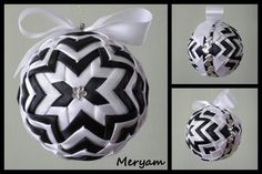 Patchwork Ornament. The star is wider on this one by MA