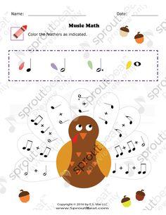 Thanksgiving – Music Math