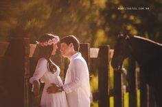 Pré Casamento - Fernanda e Frederico - Buquê de AnisBuquê de Anis - Coroa de Flores - Cavalo