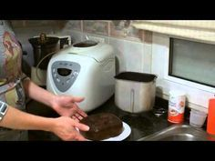 Bizcocho de chocolate en Panificadora - YouTube