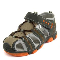 Boys Outdoor Sports Sandals Children Shoes Breathable Kids Causal Beach  Cut-Out Flat Summer Footwear c5cd10460