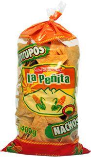 Mexican Nachos, tortilla chips LA PENITA... more taste yet home-made style