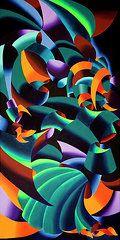 Cubism Art - Gargoyle Left  by Mark Webster