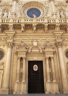 Basilica di Santa Croce in Lecce, Puglia, Italy