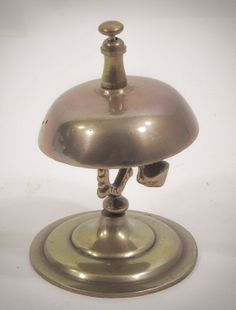 Vintage Brass Desk Bell