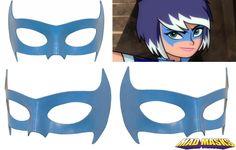 Zarya Mysticons Leather Cosplay Mask