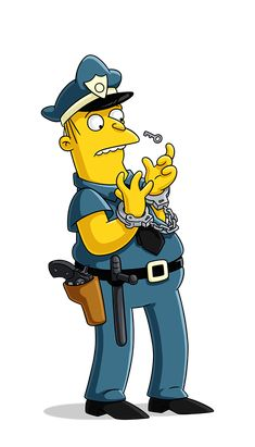The Simpsons Movie - Chief Wiggum Homer Simpson Kearney Zzyzwicz Jimbo Jones Dr. Lego Simpsons, The Simpsons Movie, Simpsons Characters, Simpson Wallpaper Iphone, Funny Phone Wallpaper, Art Christmas Presents, Chief Wiggum, Simpson Tv, Simpsons Drawings