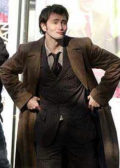 David Tennant duck face.
