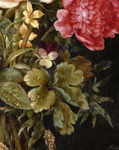 Ambrosius Bosschaert the Elder - Still Life with flowers - detail