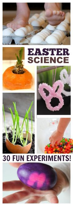 EASTER SCIENCE- 30 FUN EXPERIMENTS FOR KIDS!
