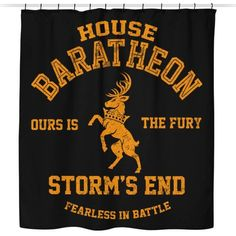 Ours is the Fury - Shower Curtain