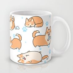 I love corgis Mug