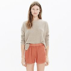Madewell - Love these type of shorts they look good on everyone