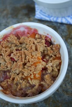 Persimmon and Cranberry Crumble Recipe