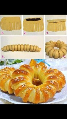 Pastry Twists and Folds for Decorative Pastries