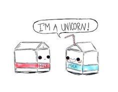 Milk Carton Unicorn